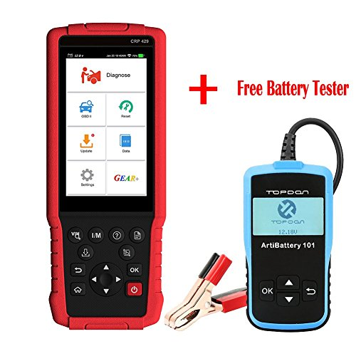 Price comparison product image Launch Crp429 Full Function OBD2 Scanner Diagnostic Scan Tool All System Diagnoses and Service Functions of Oil Reset,  EPB,  BMS,  SAS,  DPF