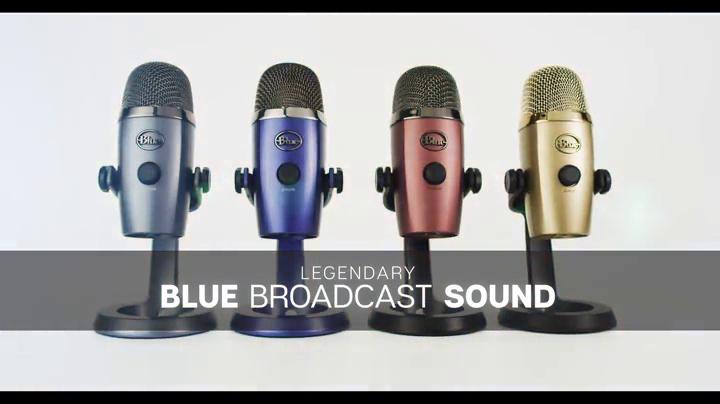 Blue Yeti Nano Premium USB Mic for Recording and Streaming - Cubano Gold