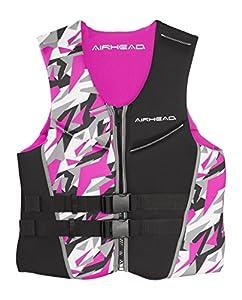 AIRHEAD CAMO COOL Women's Kwik-Dry Neolite Flex Vest, Pink