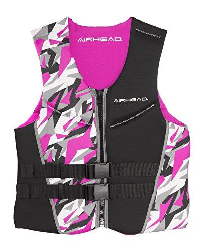 (AIRHEAD CAMO COOL Women's Kwik-Dry Neolite Flex Vest, Pink)