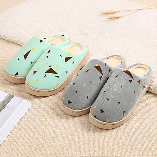 Pantoufles Peluche eu45 Couple Zhang2 44 Femme Hiver 001 Coton Pantoufles Antidérapant Intérieur Eu Hommes T4x46HwE