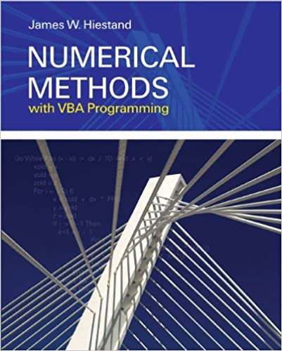 Numerical Methods With VBA Programming Free Download