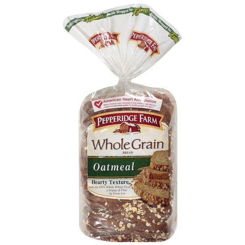 (Pepperidge Farm Whole Grain Oatmeal Bread 24 oz (Pack of 2))