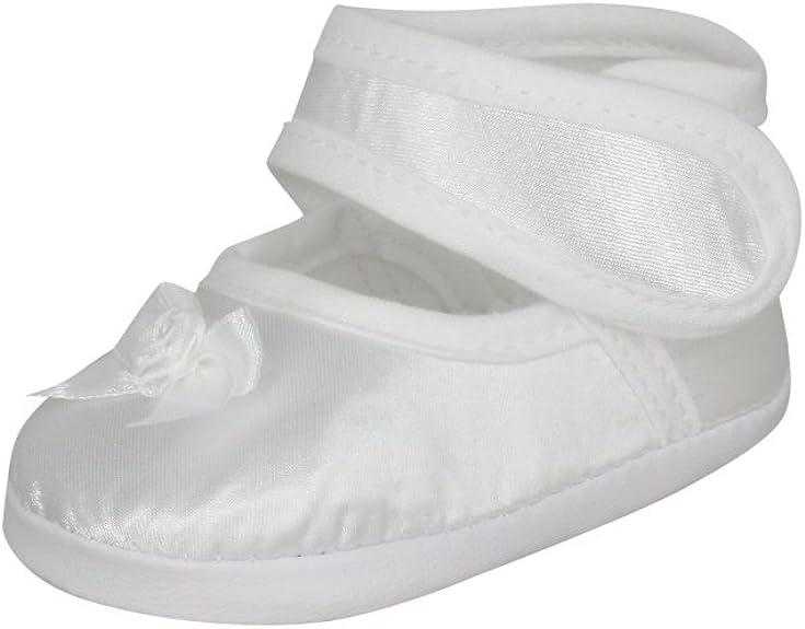 Boutique-Magique Chaussons de bapt/ême Blanc b/éb/é gar/çon