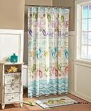 Flip Flop Shower Curtain Unbranded FLIP Flop Fabric Shower Curtain Beach Sandal Summer Bath Decor Shell