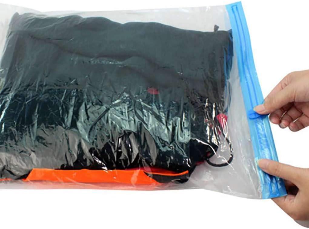Yves El Moho Impermeable a Prueba de vac/ío Viajes Transparente Protector de Embalaje Bolsas de Almacenamiento para la Ropa Space Saver Sacos de Embalaje