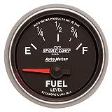 Auto Meter 3613 Sport Comp II Electric Fuel Level Gauge