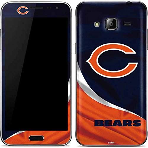 (Skinit Chicago Bears Galaxy J3 Skin - Officially Licensed NFL Phone Decal - Ultra Thin, Lightweight Vinyl Decal Protection)