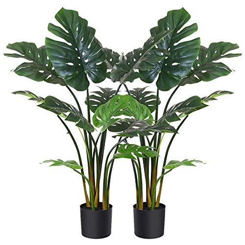 Fopamtri Artificial Monstera Deliciosa Plant 43
