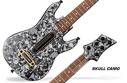 Decal Sticker for Guitar Hero Live Guitar Controller - Skull Camo ()