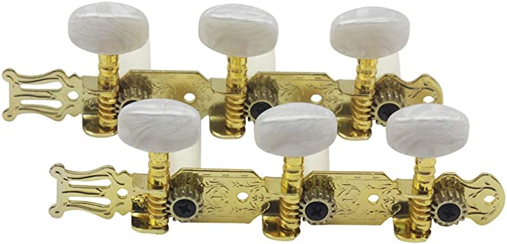 DishyKooker 2 Piezas perillas de afinación de Cuerdas Botón de ...