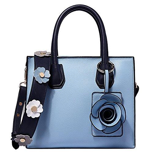 Blueandwhite Sac Bandoulière Main Wlfhm Simple Mode Dame À Tot qOwx4Za