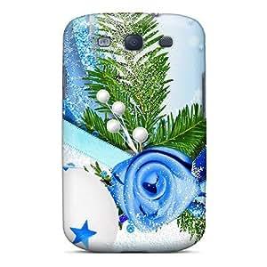 Brand New S3 Defender Case For Galaxy (blue Bird Winter Season)