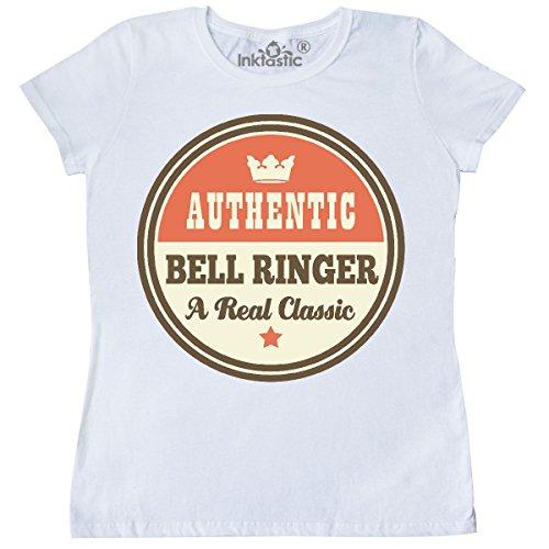 inktastic - Bell Ringer Vintage Classic Women's T-Shirt Medium White ()