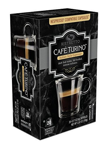 Fog Machine Prices (Cafe Turino Italian Style Espresso, (Ristretto, 20 Count) Nespresso Compatible Capsules)