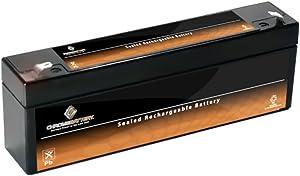 12V 2.3AH Sealed Lead Acid (SLA) Battery for UB1223 Amp ES2.3- NP2.3-12 PS-1223