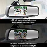 """Master Tailgaters 4.3"""" LCD Rear View Mirror HD"""