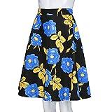 NREALY Skirt Womens Ladies Vintage Summer Floral