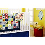 New 4pcs Baby Boy Crib Bedding Set (without bumpers): 1)quilt,1)crib sheet,1)fleece blanket,1)dust skirt