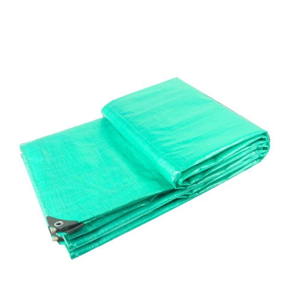 Tarpaulin waterproof heavy duty Truck Tarpaulin Rain Cloth - Sunshade Poncho Waterproof Waterproof tarpaulin Thickening Outdoor Tarp Floor coverings for camping, fishing, gardening an ( Size : 2m3m )