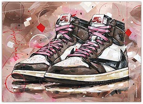 cadre sneakers air jordan 1