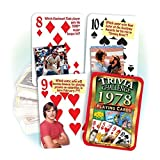 Best Playing Cards In The Worlds - 1978 Trivia Playing Cards: 39th Birthday or Anniversary Review