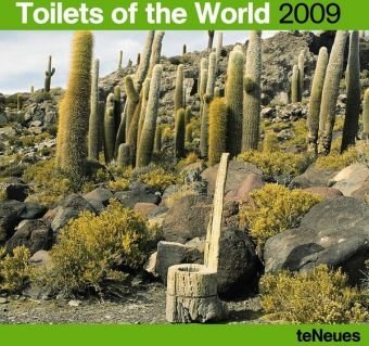 2009 Toilets of the World Wall Calendar ()