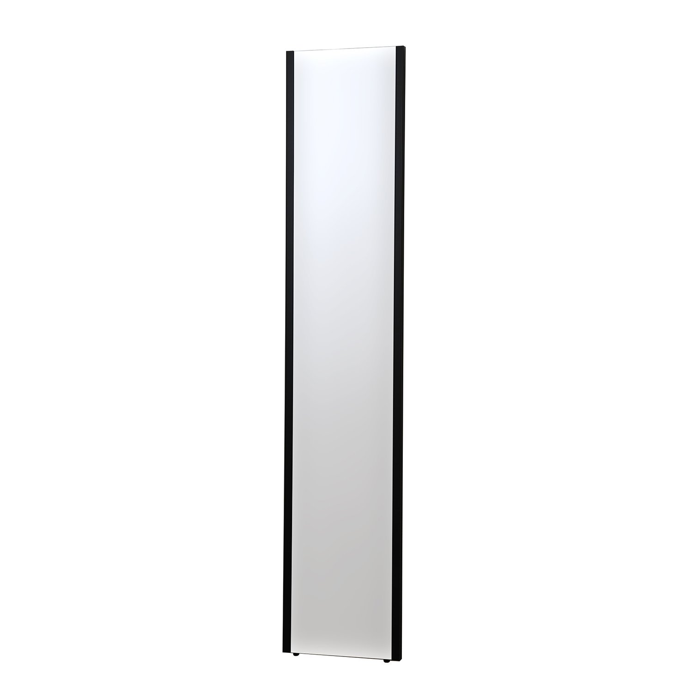 割れない鏡 refex-30150 (R) 約30×150cm ブラック NRM-3/B 防災 飛散防止 スリム姿見 ミラー インテリアショップゆうあい B01C5H57PS スリム姿見(NRM-3) 約30×150cm ブラック(B) ブラック(B) スリム姿見(NRM-3) 約30×150cm