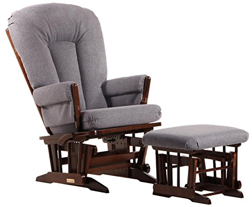 (Dutailier Colonial Glider-Multi-Position Recline and Ottoman Combo )