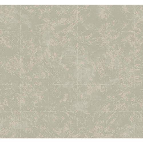 York Wallcoverings CW9276 Natural Radiance Lexington Wallpaper, Palest Rose Gold Sheen/Toasted Almond