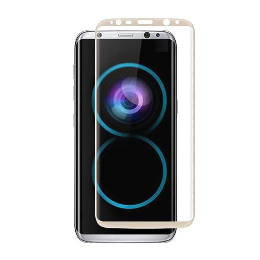 18 opinioni per VIFLYKOO Samsung Galaxy S8 Pellicola Protettiva, 3D Full Coverage Samsung Galaxy