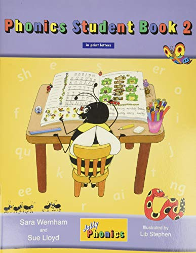 Jolly Phonics Student Book 2: In Print Letters (American English Edition) Paperback – January 1, 2010