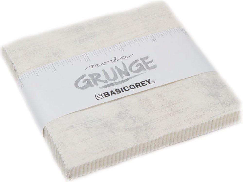 Moda Fabric Grunge Charm Pack Creme: Amazon.es: Juguetes y juegos