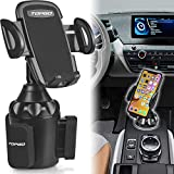 [Upgraded] Car Cup Holder Phone Mount Adjustable...