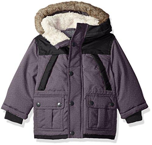 Price comparison product image OshKosh B'Gosh Osh Kosh Baby Boys' Infant Heavyweight Fashion Parka,  Black,  12M