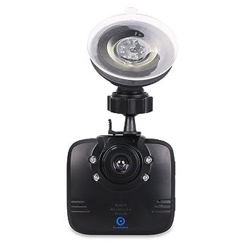 Videocámara para el Salpicadero del Coche Bluepupile | Cámara para el salpicadero rotable | Super visión