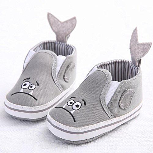 Culater® Sneakers bambino del bambino pattini della greppia di fiore morbida suola antiscivolo