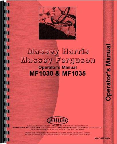 Massey Ferguson 1030 Tractor Operators Manual by Jensales
