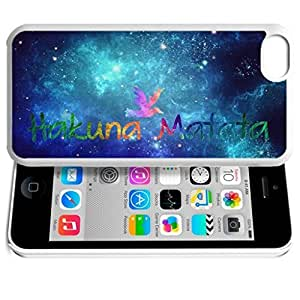 Africa Ancient Proverb HAKUNA MATATA Color Accelerating Universe Star Design Pattern HD Durable Hard Plastic Case Cover for ipod touch 4 touch 4