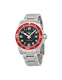 Longines HydroConquest Black Dial Stainless Steel Bracelet Mens Watch L36894596