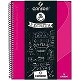 Caderno Universitário Canson A4 80 Folhas - Rosa (IGUAL OXFORD)