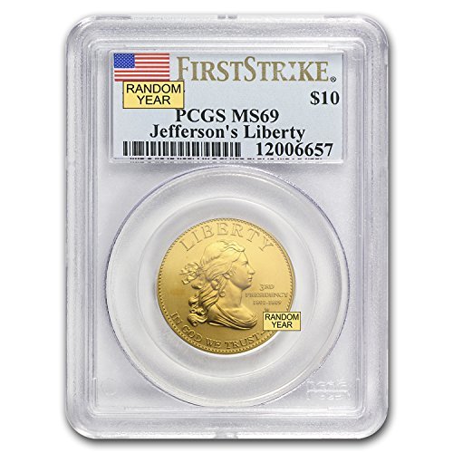 2007 Present (2007 W - Present 1/2 oz Gold First Spouse Coins MS-69 PCGS (Random Year) 1/2 OZ MS-69 PCGS)