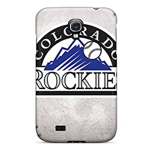 New Colorado Rockies Tpu Case Cover, Anti-scratch RGwens Phone Case For Galaxy S4