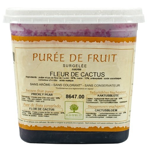 Prickly Pear (Cactus) Puree - 1 tub - 2.2 lbs by Ravifruit