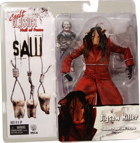 Neca - Cult Classics Hall of Fame série 2 figurine Jigsaw Killer (Saw 3