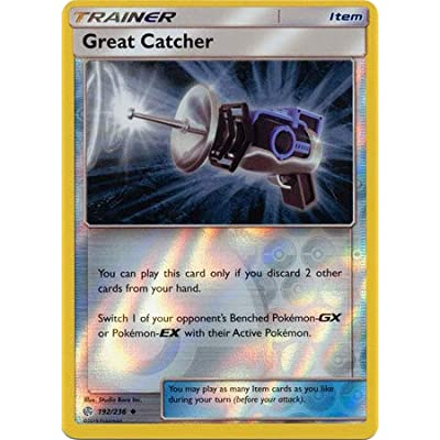 Great Catcher - 192/236 - Uncommon - Reverse Holo - Cosmic Eclipse: Toys & Games