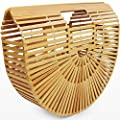 Bamboo Ark - Small Clutch Handbag for Women - Handmade