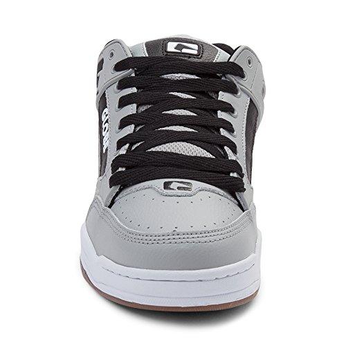 Globo Mens Shoe Skateboard Inclinazione Bianco Nero Grigio 7332