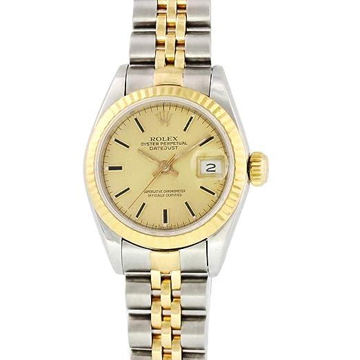 Rolex Datejust Automatic-Self-Wind 69173 - Reloj de Pulsera para Mujer: Rolex: Amazon.es: Relojes