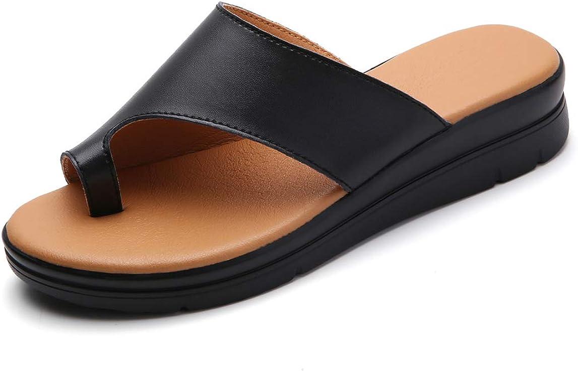 KINOW Women Bunion Sandals Platform